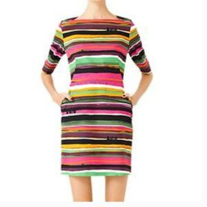 kate spade saturday striped dress size 6 nwot
